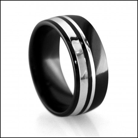 Mens wedding band tungsten vs titanium