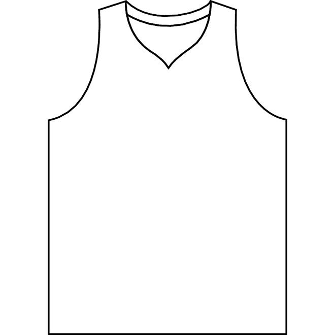 Basketball jersey template printable google search table for Football t shirt cake template