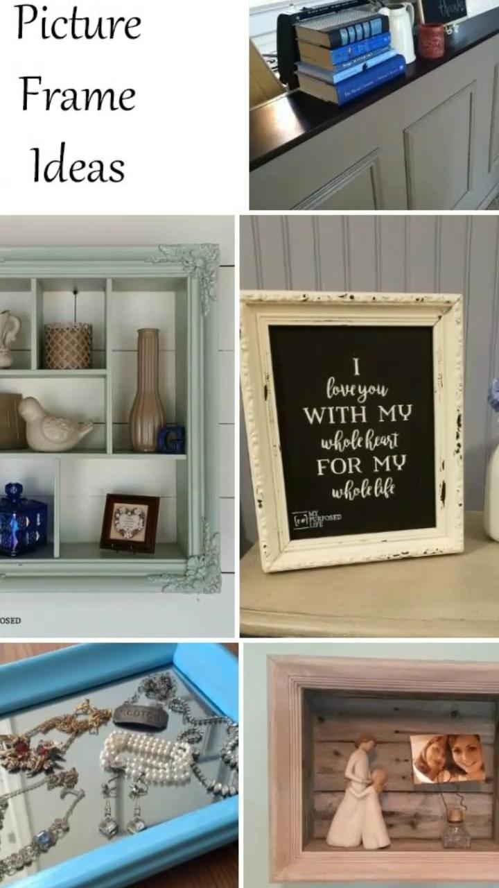picture frame ideas | Repurposed