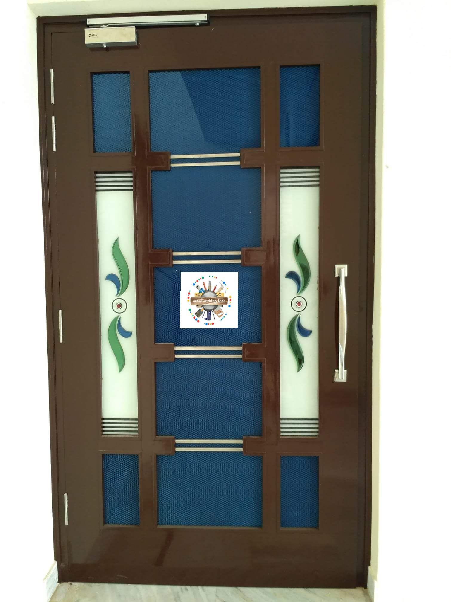 Woodworkingidea Doors0007 Wooden Main Door Design Room Door Design Door Glass Design