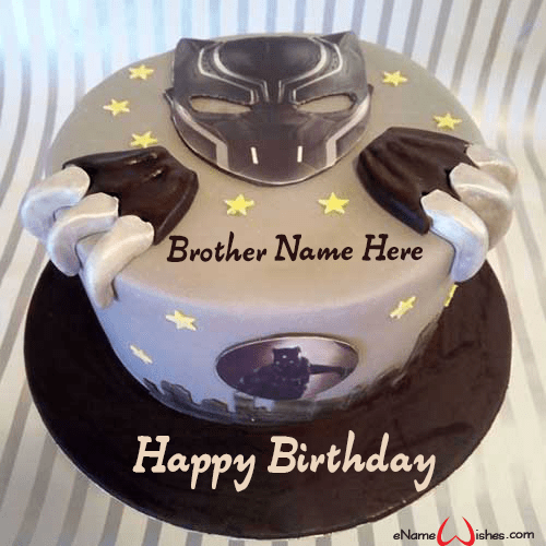Pin On Brother Birthday Cakes