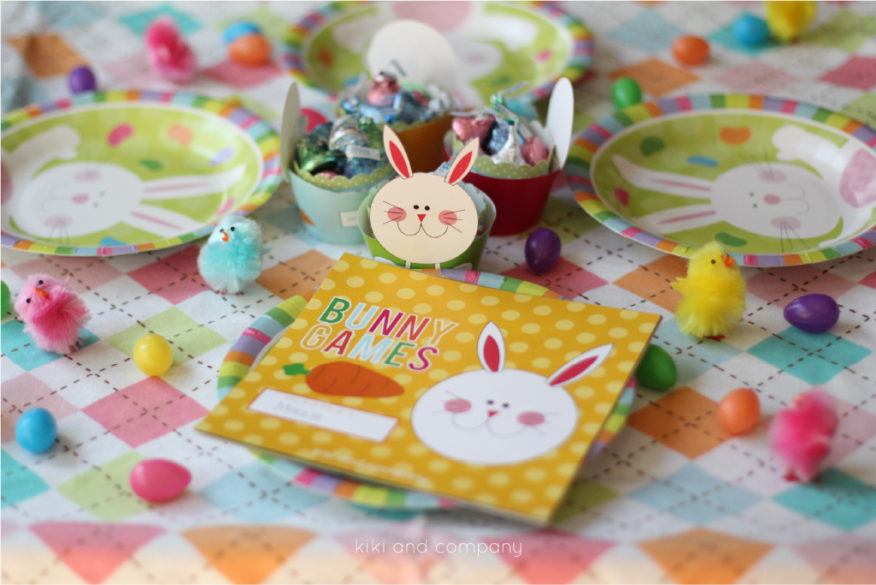 Free Kids' Easter Printable: Bunny Games!