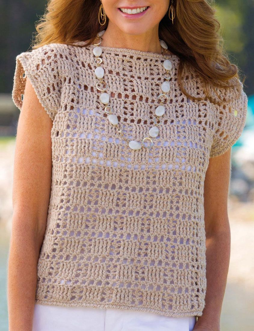 Women\'s top crochet pattern | crochet | Pinterest | Häkeln ...
