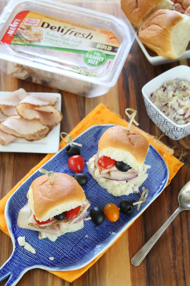 Italian Herb Turkey Sliders