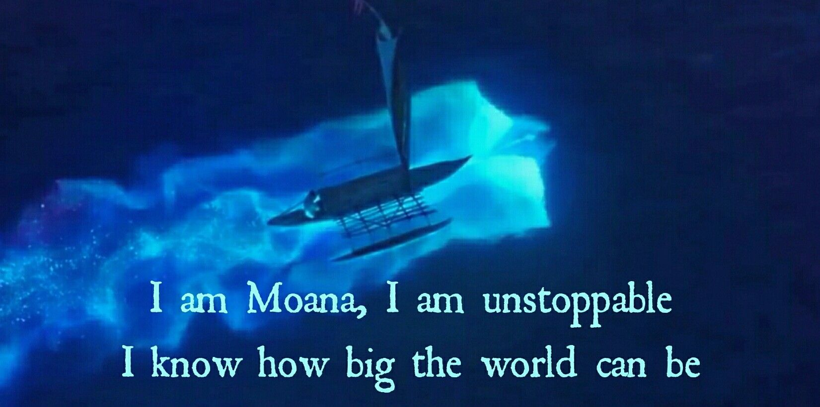 I am moana... ❤ #moana #disney #how far I'll go reprise #grandma #tala #unstoppable #lin-manuel miranda #spirit
