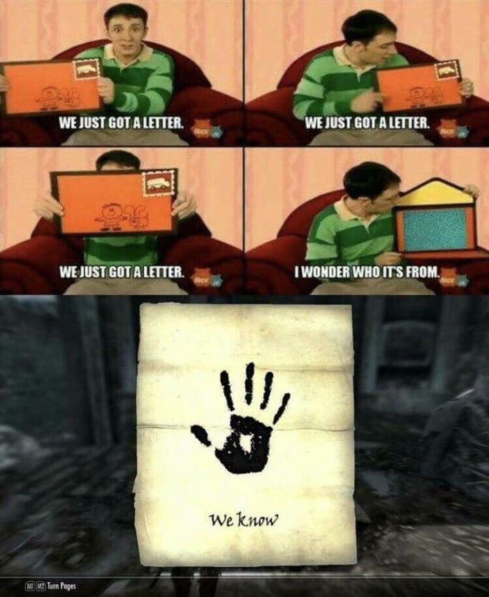 The Dark Brotherhood Skyrim Funny Skyrim Memes Elder Scrolls Memes