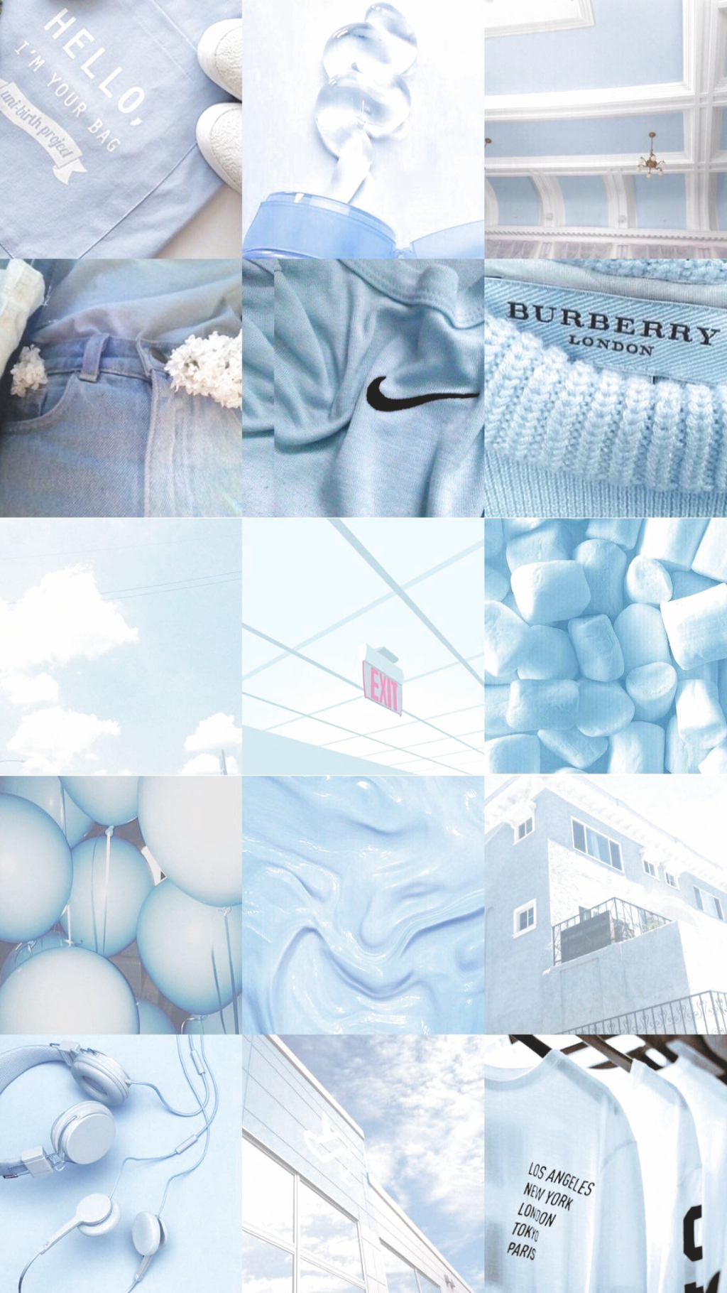 Blau-Hintergrundbild-iPhone – iphone wallpaper quotes #bluewallpaper #bluewallpaperi…