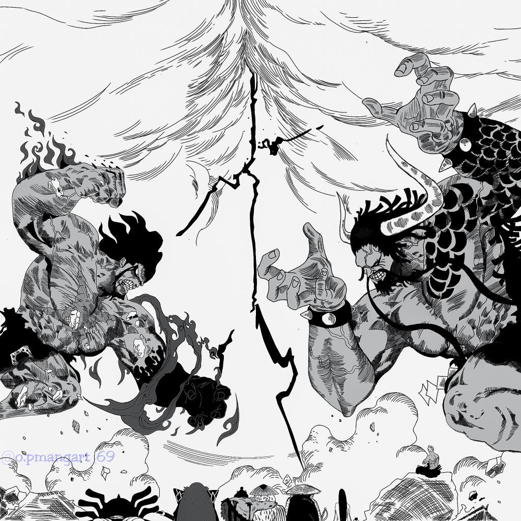 Kaido Of The Beasts Monkey D Luffy Luffytaro Straw Hat