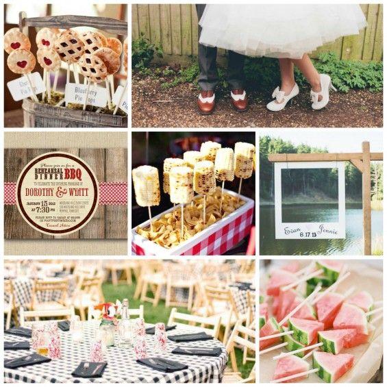 Bbq Wedding Reception Ideas: Summer Bbq Wedding Inspiration!