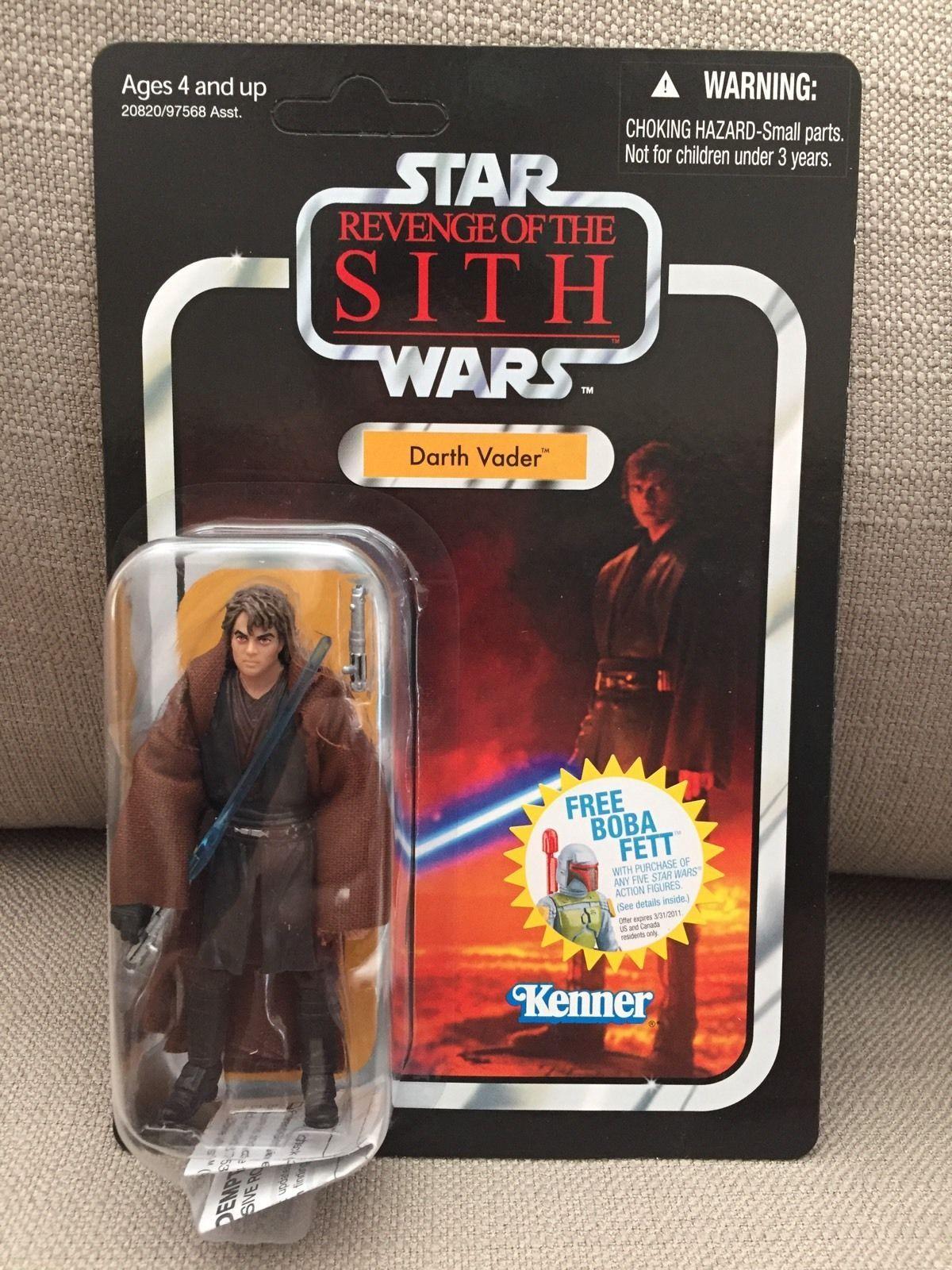 Star Wars TVC Vintage Collection VC13 Darth Vader Unpunched Fett OFFER | eBay