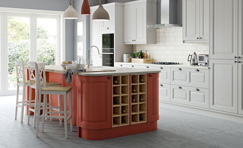 trend alert everyone s going crazy for terracotta kitchens rh pinterest com