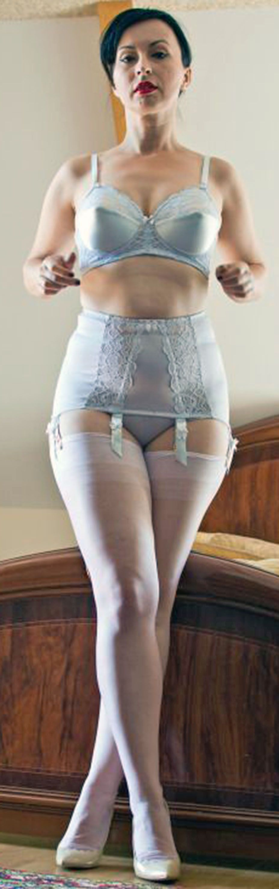 3764cfd969ef3 Light blue open girdle