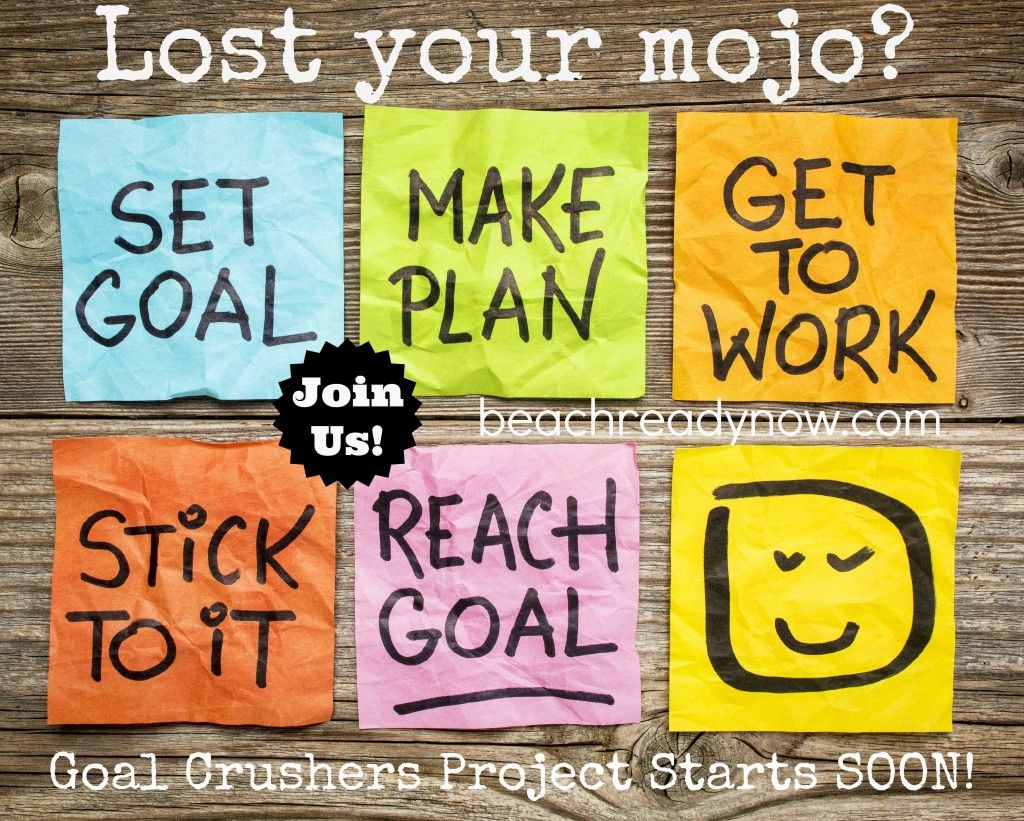 30 Day Goal Crushers Project