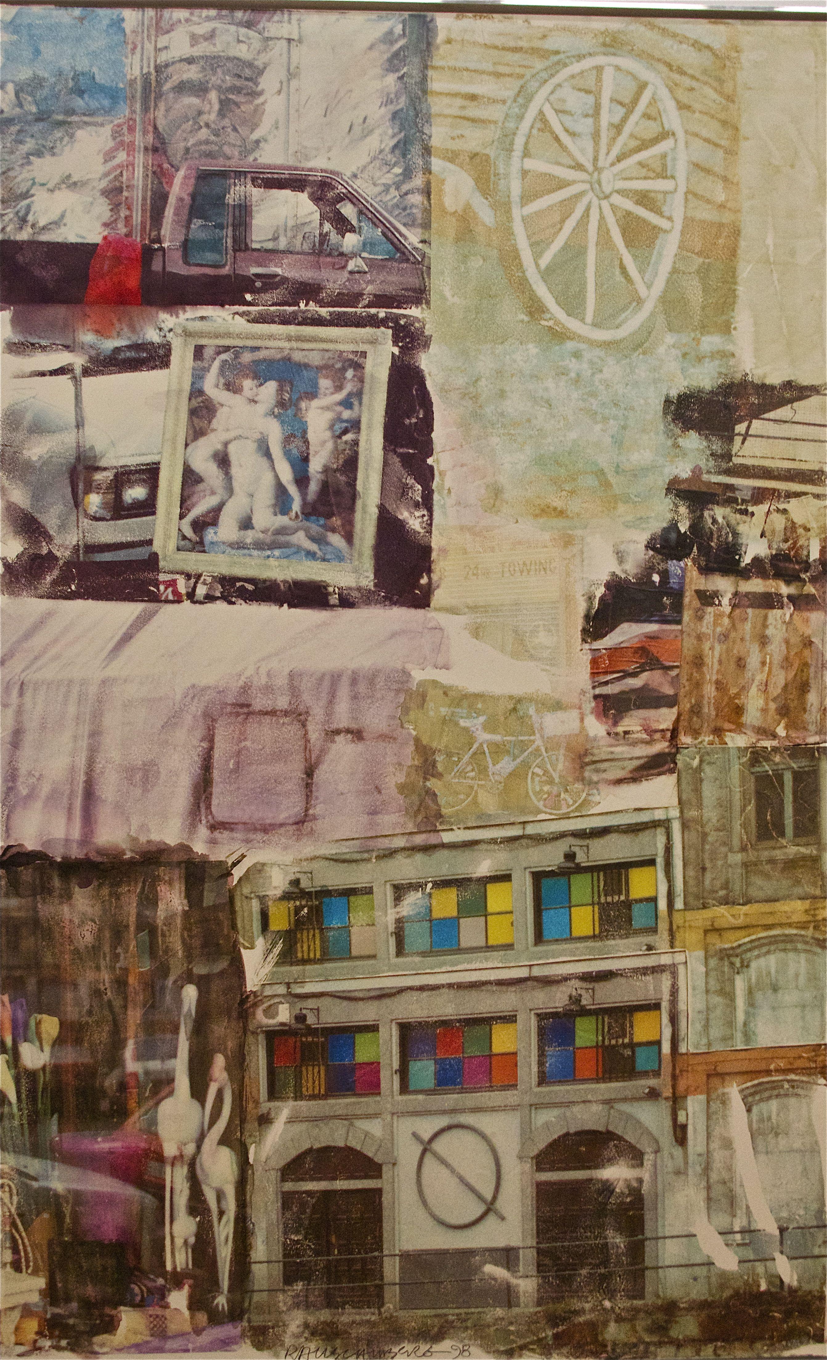 Robert Rauschenberg. Love Hotel 1969. Art Museum