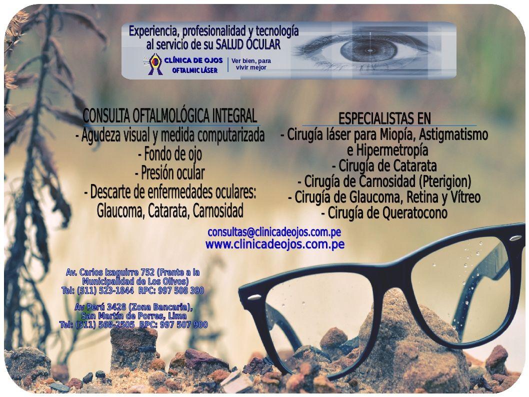 mejor clinica de los ojos en lima