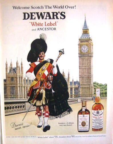 1967 Dewar's Scotch Whiskey Big Ben Print Ad   eBay   Whisky