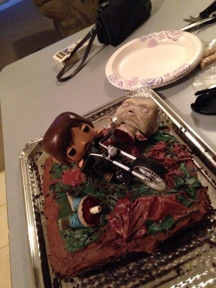 Darrell Walking Dead Cake