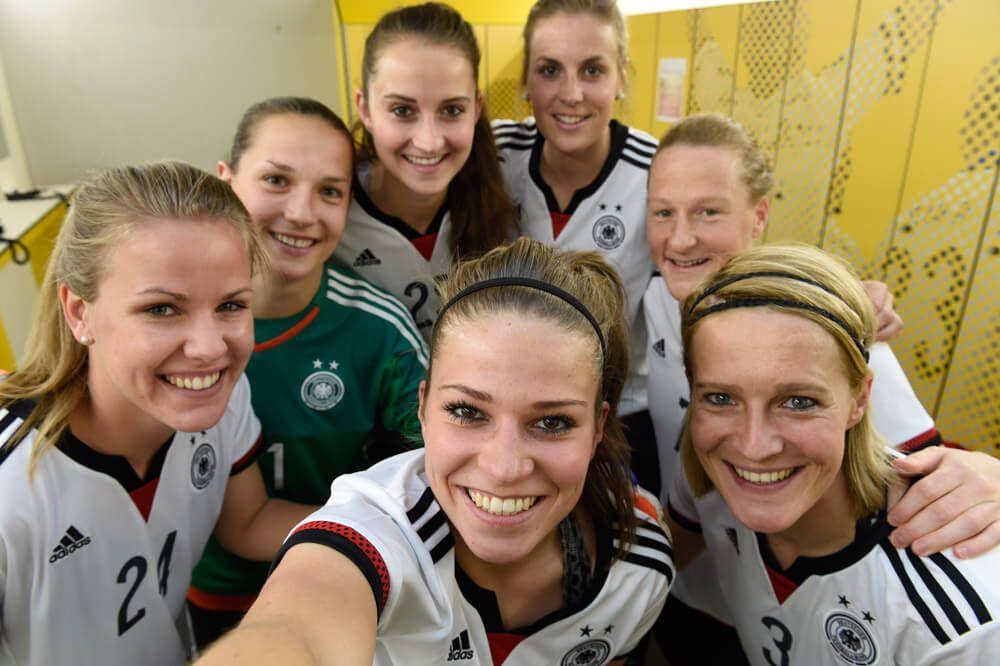 Frauen Nationalmannschaft Nationalmannschaft Dfb Und