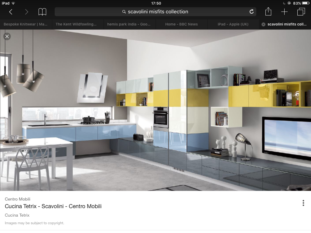 Color blocking comes to the kitchen with these Tetris-style cabinets ...