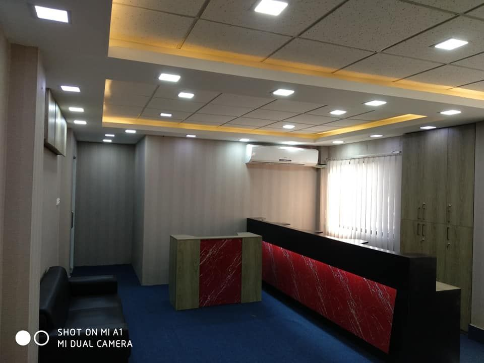 Small Office Interior Office Room Interior Back Panel Design Office Ceiling Design Wall Paneling Ideas Small Office Room Office Ceiling Design Small Office