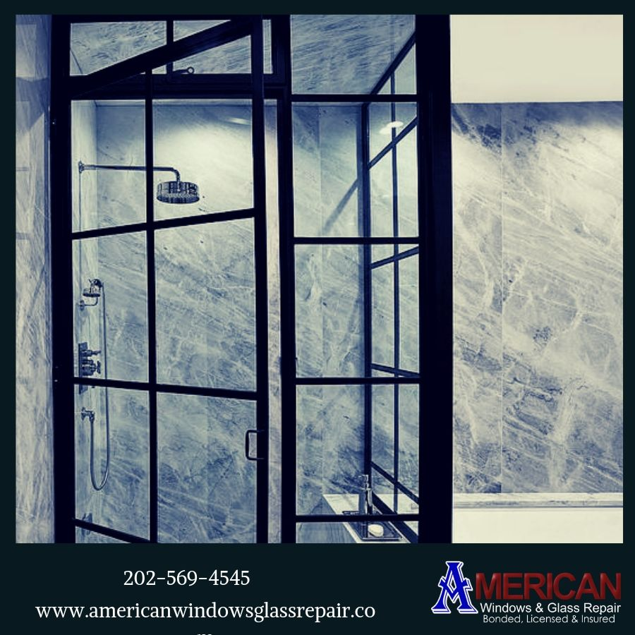 If You Have A Broken Shower Door Glass We Are Ready To Repair It We Are On Your One Call Visit American Wi Glass Repair Window Glass Repair Glass Shower Doors