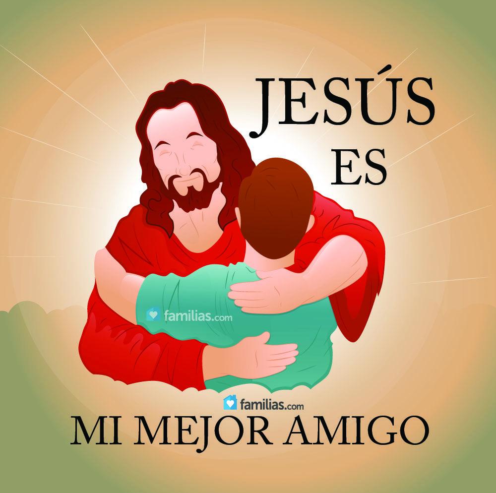 Jesús es mi mejor amigo | Quien es jesus, Mensajes cristianos y Frases catolicas