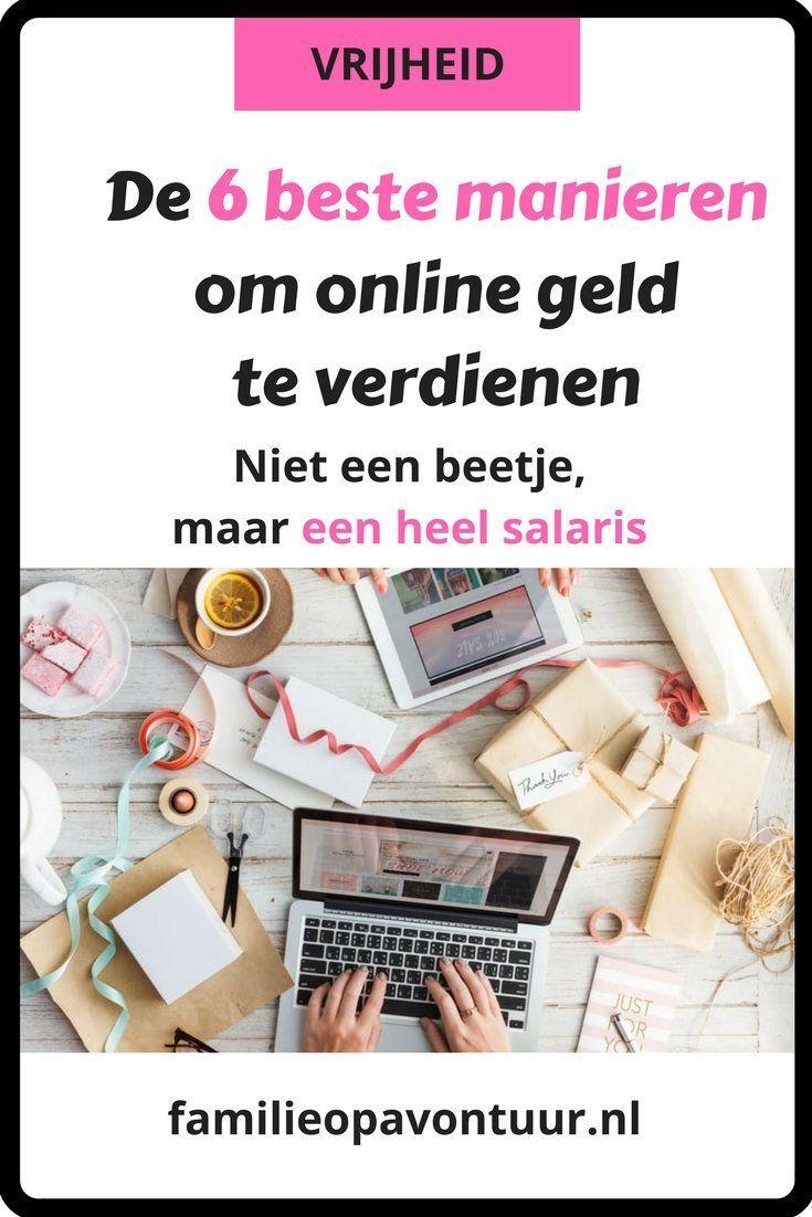 Snel en makkelijk geld verdienen online