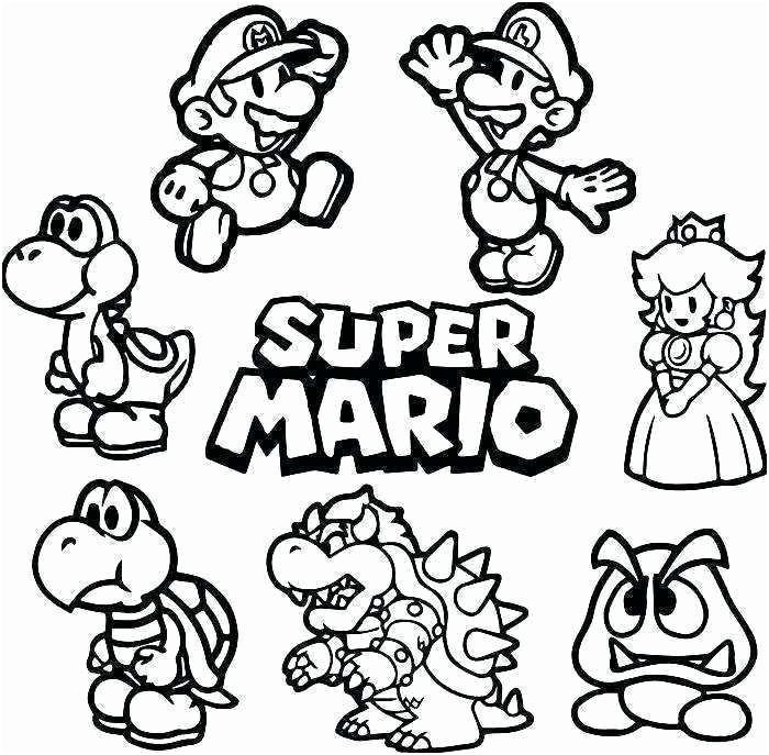 Luigi Coloriage Luxe Coloriage Mario Luigi Beau Coloriage Mario Et
