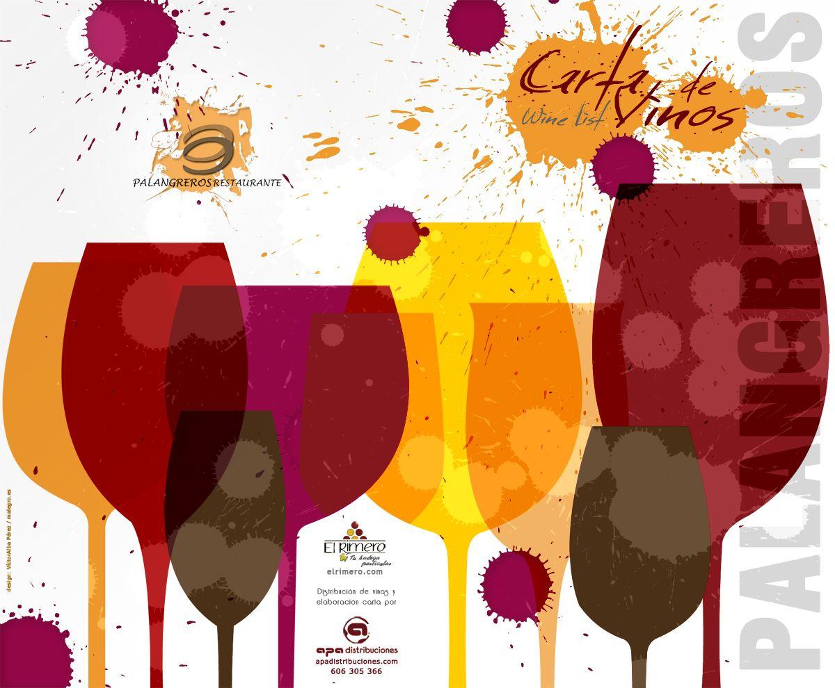 Carta De Vinos Restaurante Palangreros Malaga Carta De Vinos Vinos Disenos De Unas
