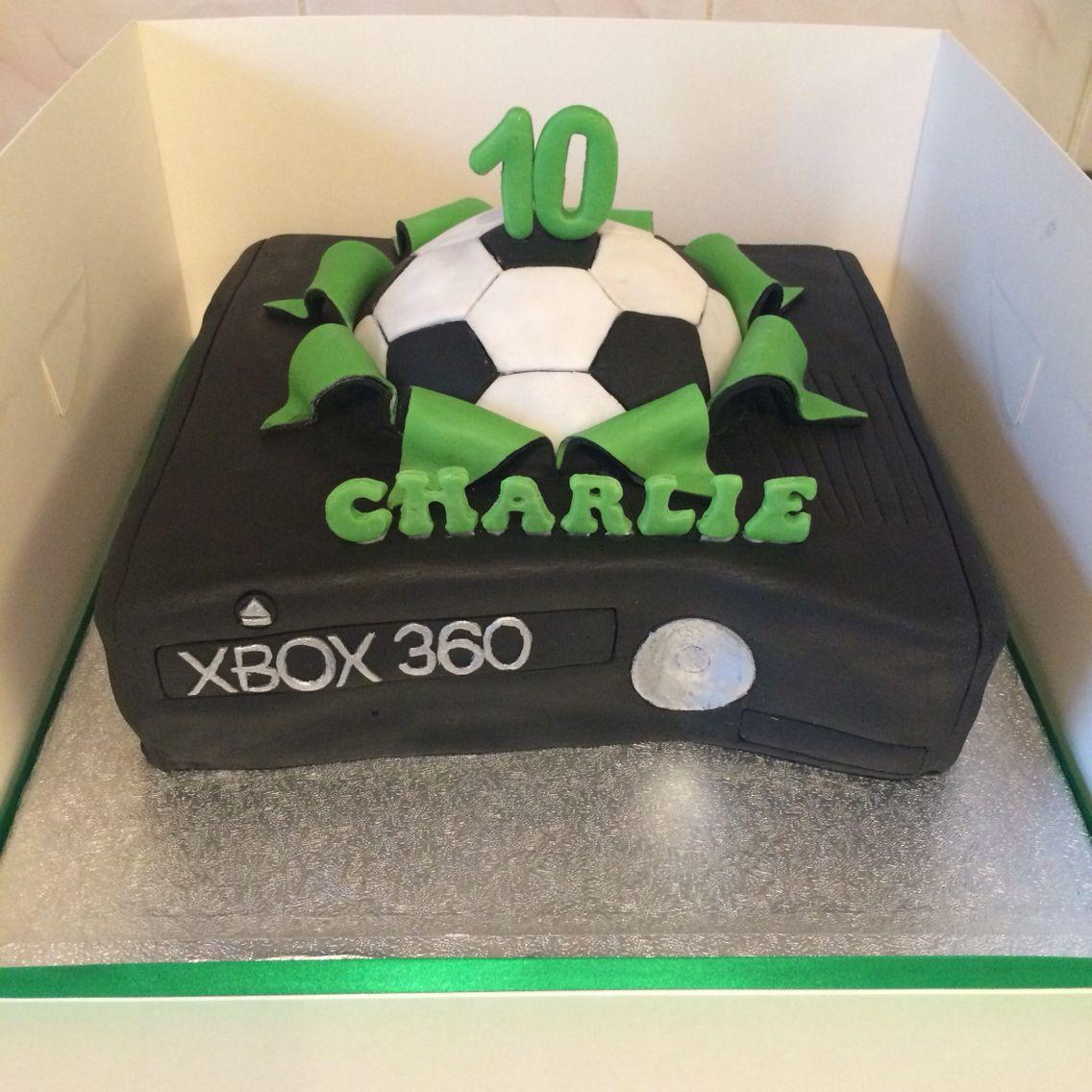 Xbox Fifa Cake