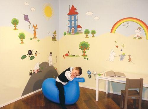 Moomin Wall Decals - Laura Lastentarvike