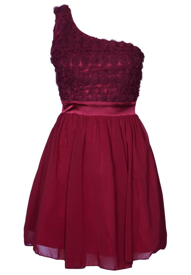 Off shoulder wine red cocktaildress little mistress what to