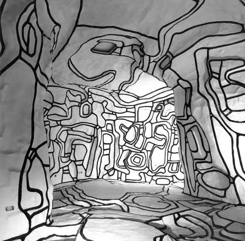 """Jardin d'hiver"" de Jean Dubuffet"
