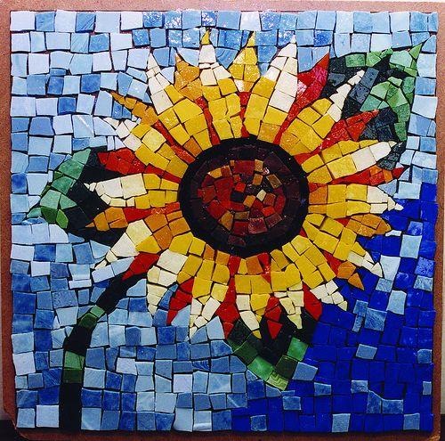 Sunflower Mosaic Sunflower Mosaic Mosaic Art Free Mosaic Patterns