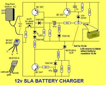 Solar Charge Controller Circuit Diagram The Led Flashes When The Battery Is Charged Circuit Diagram Solar Battery Charger Solar Battery