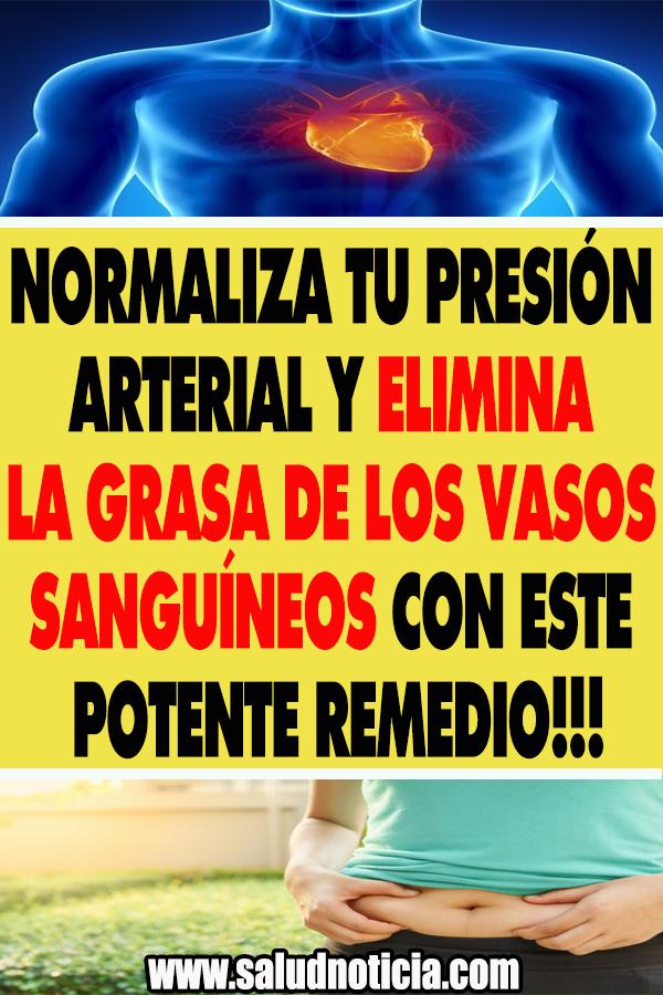 NORMALIZA TU PRESIÓN ARTERIAL Y ELIMINA LA GRASA DE LOS..