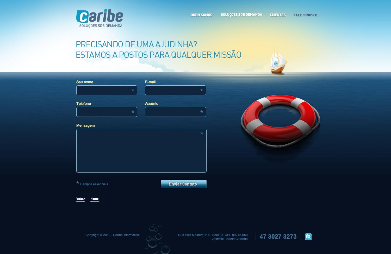 Website - Caribe Informática