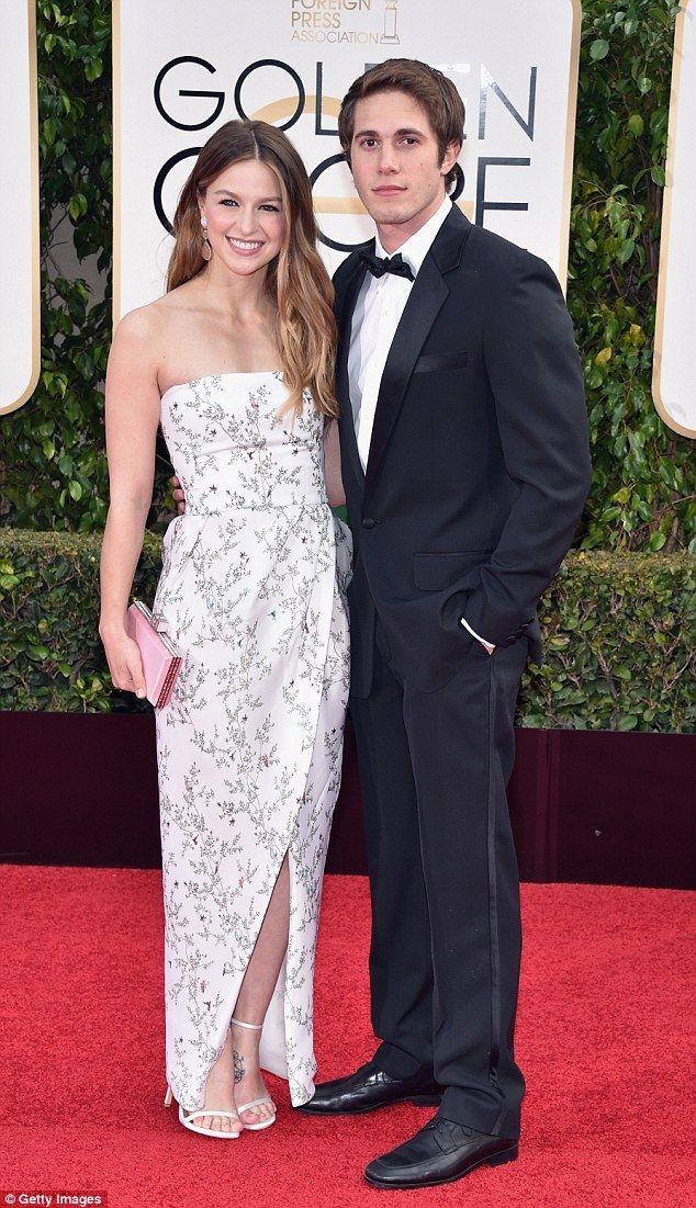 Supergirl S Melissa Benoist Files For Divorce From Blake Jenner Strapless Dress Formal Blake Jenner Wedding Dresses