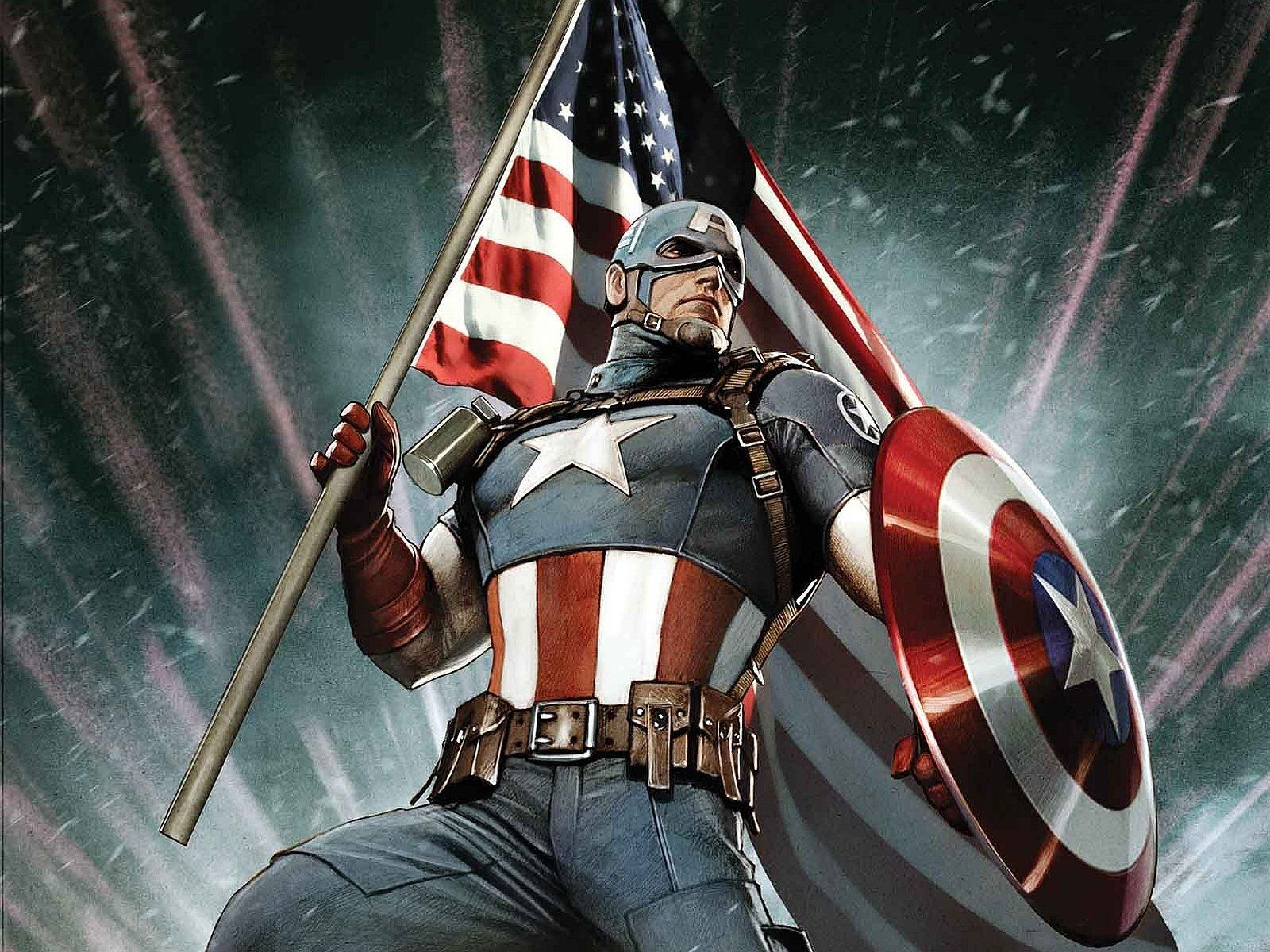 Captain America Fonds décran HD Arrièreplans Wallpaper