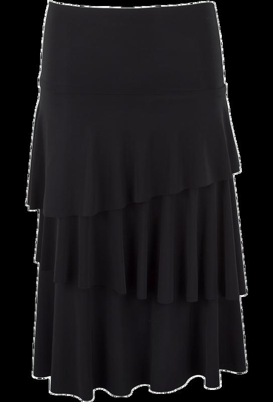 074f414ab2602 Last Tango Layered Ruffle Skirt | Hoedown | Skirts, Ruffle skirt ...