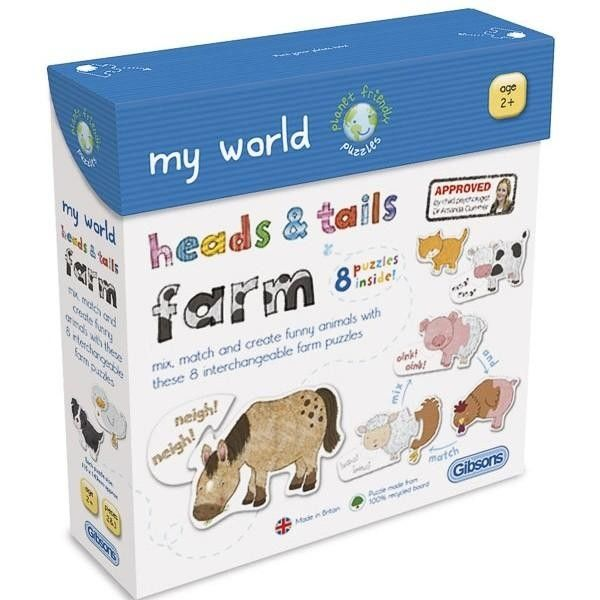 Gibsons Heads and Tails Farm Jigsaw £5.99