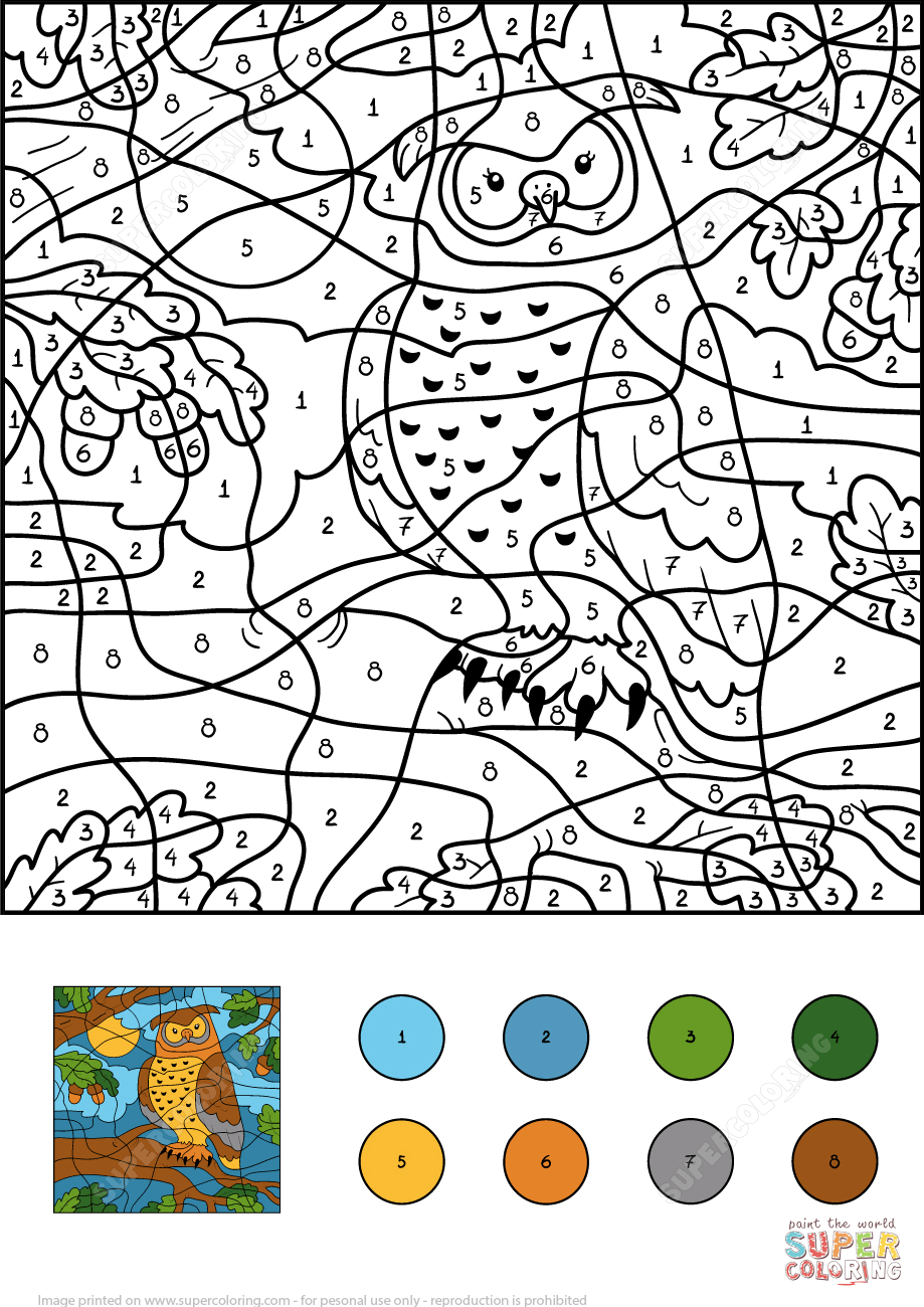 owl-color-number-printable-coloring-pages-click-the-view-numbers ...