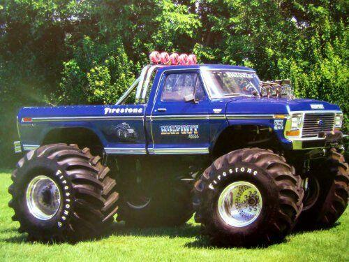 The Original Monster Truck Bigfoot Monster Trucks Trucks