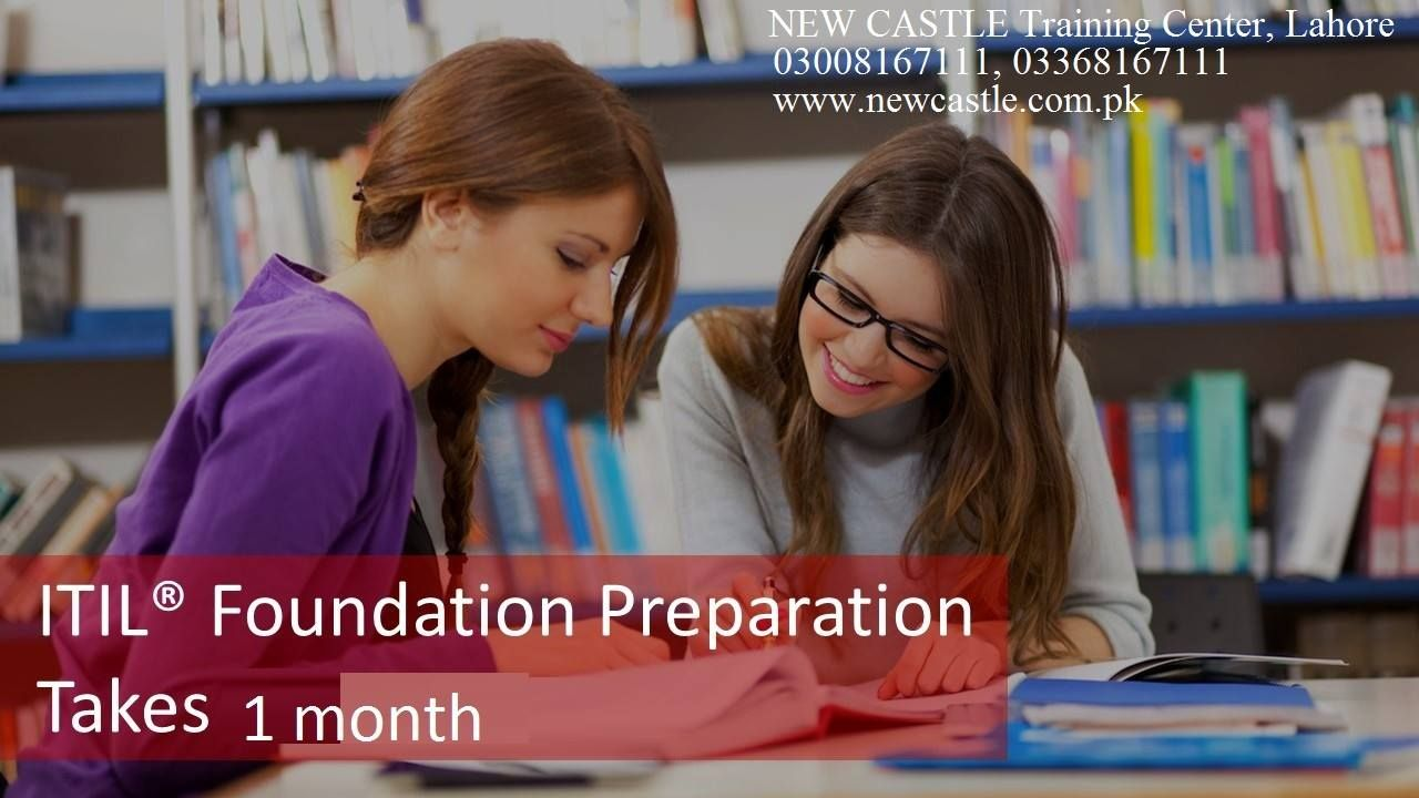 Itil Foundation Certification Training Coursein Lahore Pakistan