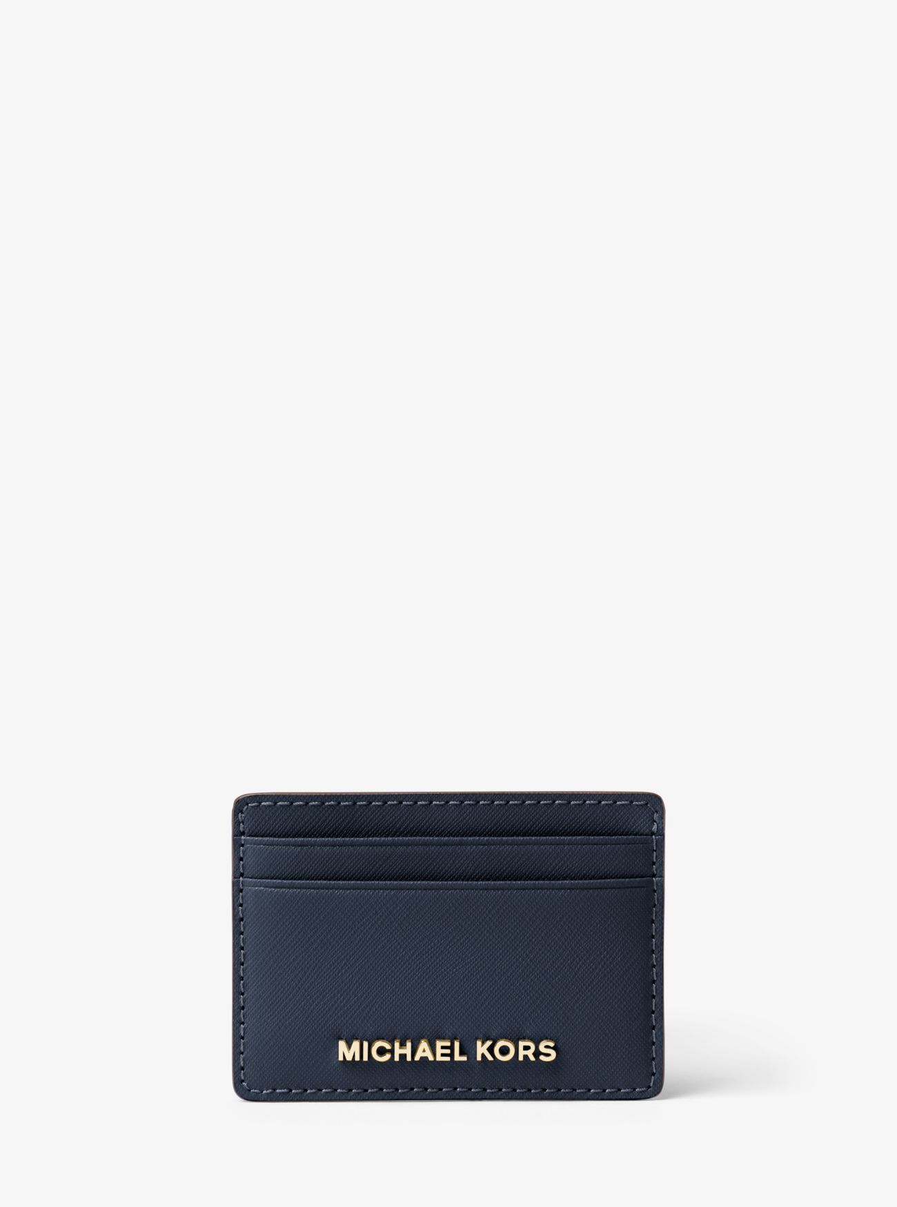 b87d71fa076c Buy Michael Kors Admiral Jet Set Travel Saffiano Leather Card Case Online  Shop
