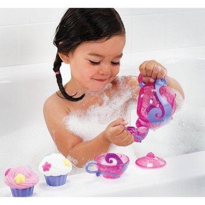 Munchkin Tea and Cupcake Baby Bath Toy Set