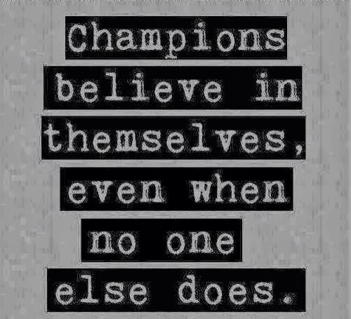 Are you a champion?