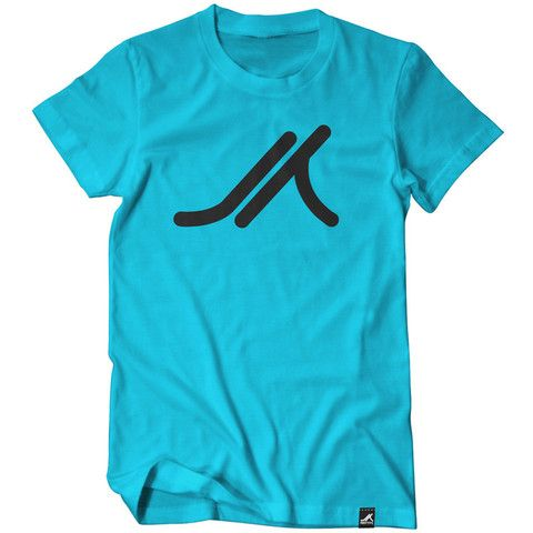 The classic Airtype Icon tee, now in Turquoise.