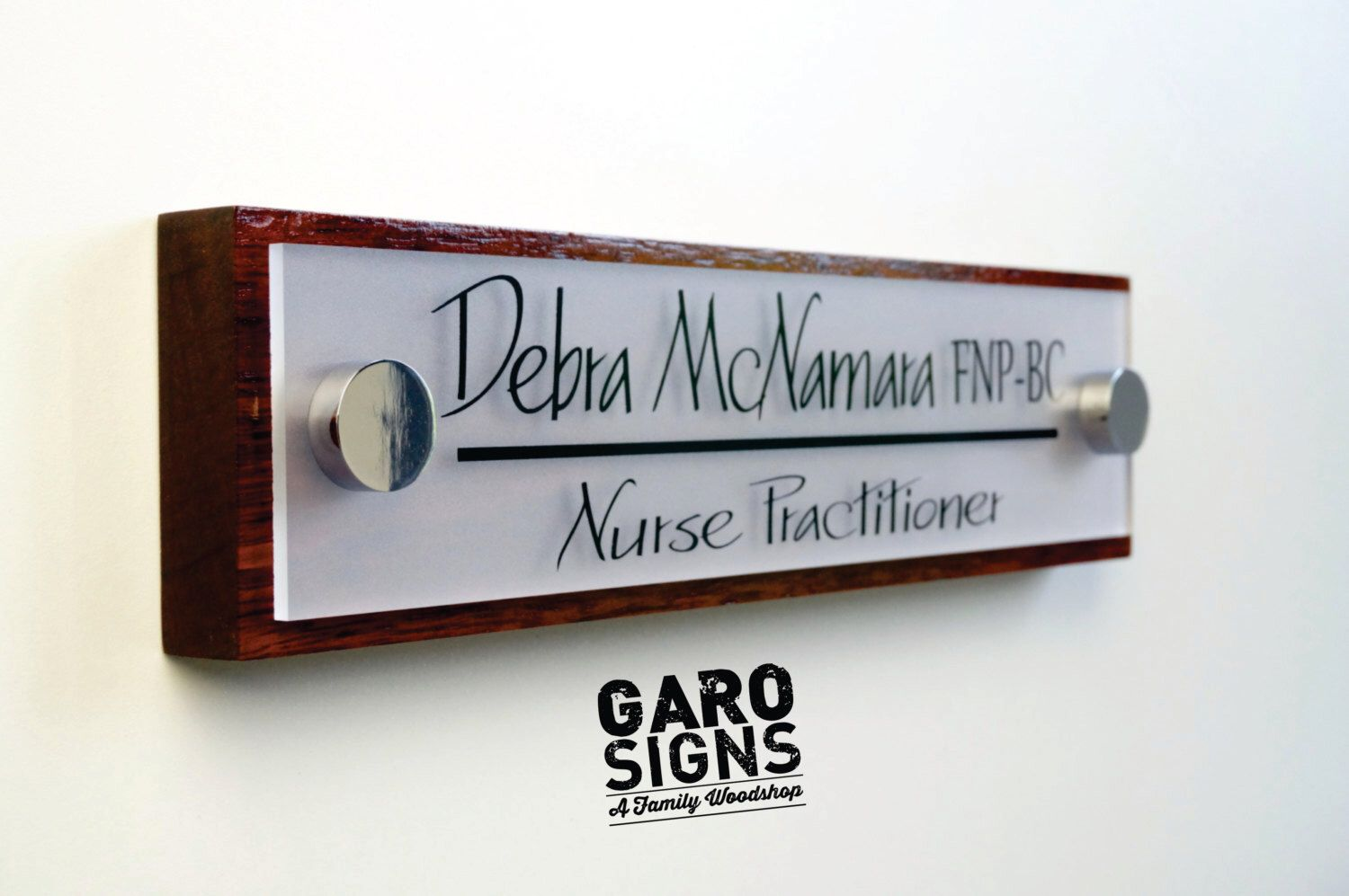 Office door sign professional personalized wood sign gift 10 x 2 5 by garosigns on etsy