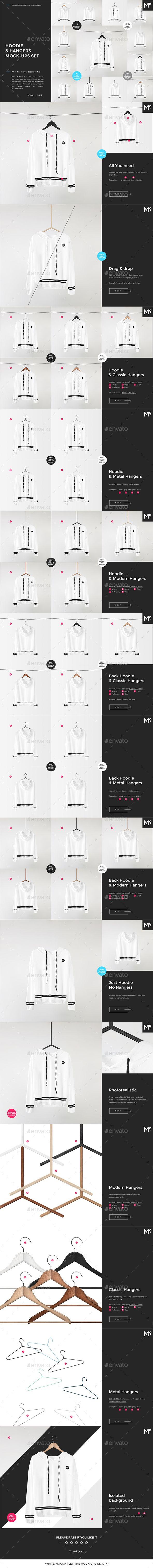 Download Hoodie Hangers Mock Ups Set Clothing Mockup Wellness Design Mockup Design